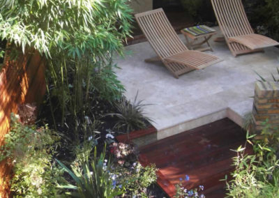 An Organically Styled Garden Design, St John's Wood North London
