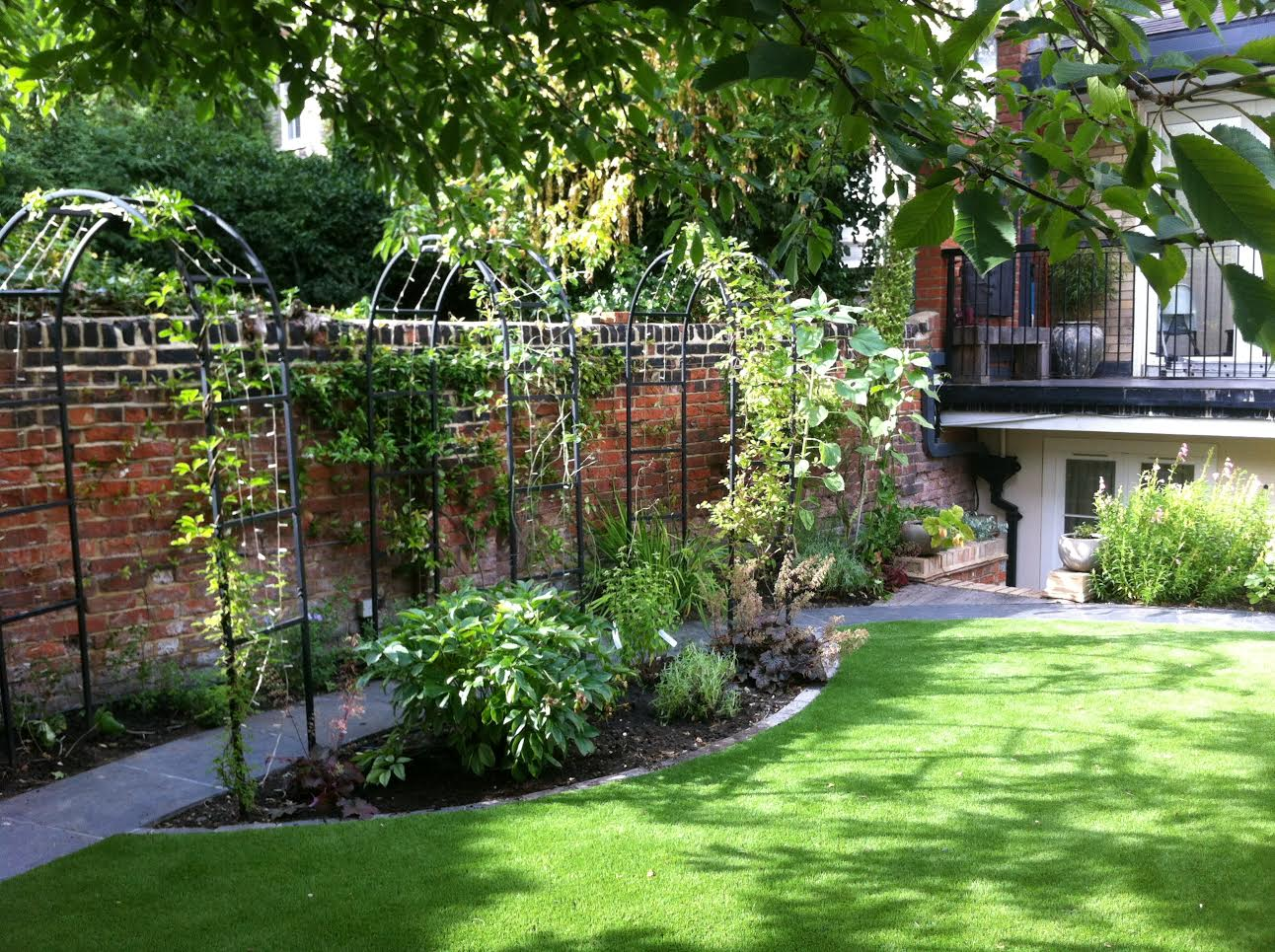 Romantic Garden Design Hampstead - Celine David
